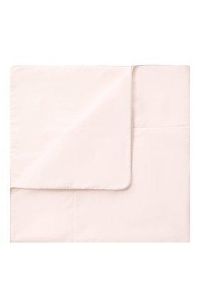 Комплект на выписку из шелка Розовый фламинго | Фото №2