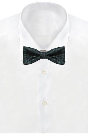 Детский галстук-бабочка ALETTA зеленого цвета, арт. AMP999410 | Фото 2