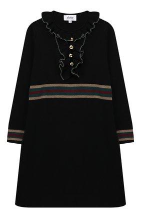 Платье из хлопка и кашемира | Фото №1