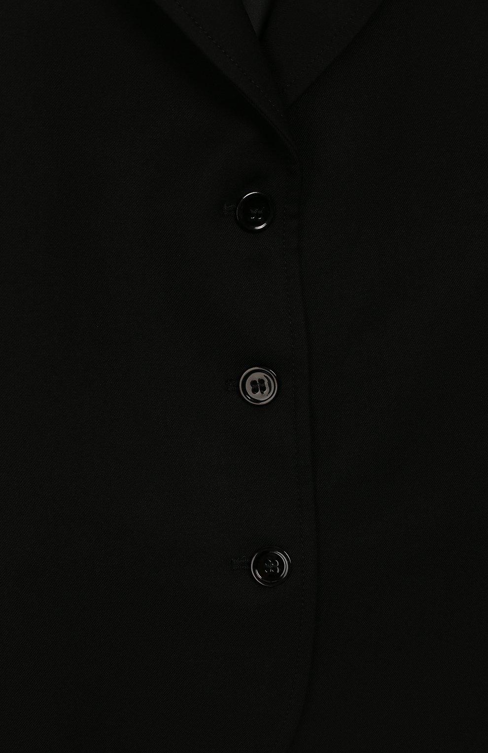 Детский жакет ALETTA черного цвета, арт. AF999419N/9A-16A | Фото 3