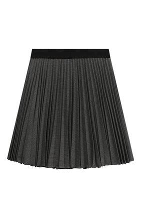 Детская плиссированная юбка ALETTA темно-серого цвета, арт. AF999353LL/4A-8A | Фото 2