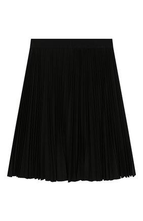 Детская плиссированная юбка ALETTA темно-синего цвета, арт. AF999353L/9A-16A | Фото 2