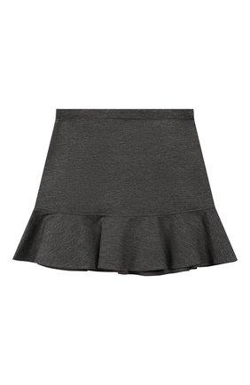 Детская юбка из вискозы ALETTA темно-серого цвета, арт. AF999346/9A-16A | Фото 2