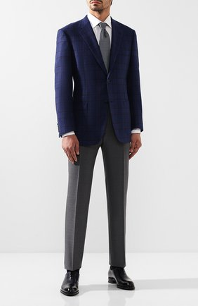 Мужской кашемировый пиджак BRIONI синего цвета, арт. RGH00S/08362/PARLAMENT0 | Фото 2