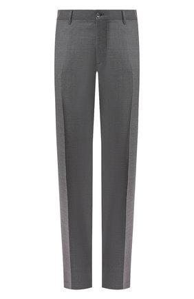 Мужской шерстяные брюки ZILLI серого цвета, арт. M0S-40-38N-B6406/0001 | Фото 1