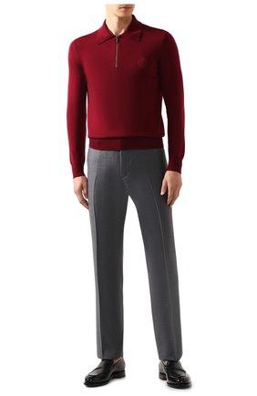 Мужской шерстяные брюки ZILLI серого цвета, арт. M0S-40-38N-B6406/0001 | Фото 2