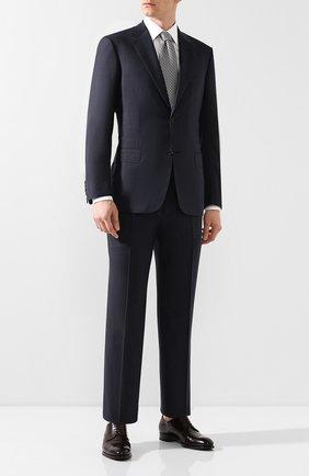 Мужской шерстяной костюм BRIONI синего цвета, арт. RAH00L/08A2V/PARLAMENT0 | Фото 1