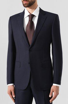 Мужской шерстяной костюм ERMENEGILDO ZEGNA темно-синего цвета, арт. 622021/221225 | Фото 2