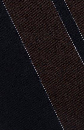 Мужской кашемировый шарф BRUNELLO CUCINELLI темно-синего цвета, арт. MSC629AV | Фото 2