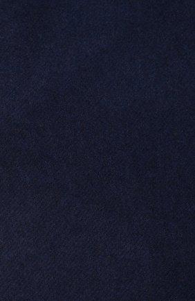 Мужской кашемировый шарф BRUNELLO CUCINELLI темно-синего цвета, арт. MSC617AG | Фото 2