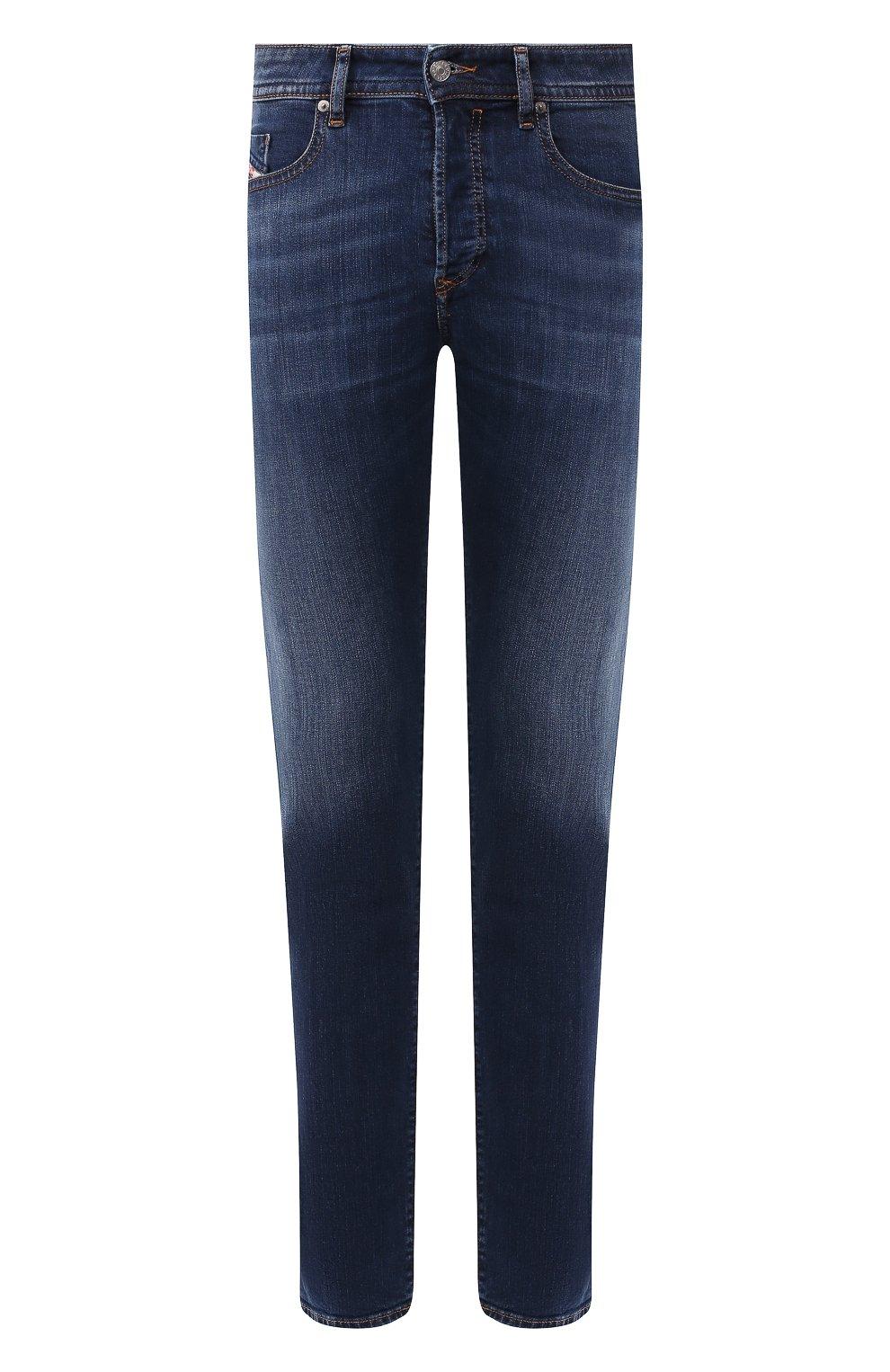 Мужские джинсы DIESEL синего цвета, арт. 00SDHB/082AZ | Фото 1