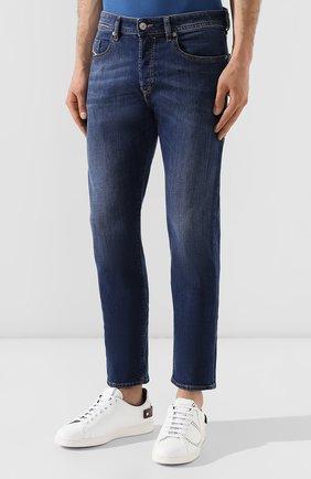 Мужские джинсы DIESEL синего цвета, арт. 00SDHB/082AZ | Фото 3