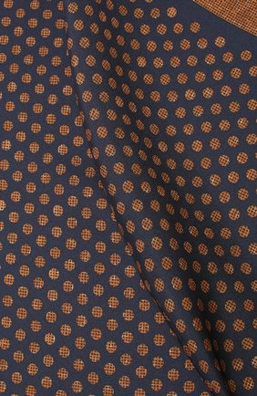 Мужской шелковый платок KITON коричневого цвета, арт. UP0CHCX02S55 | Фото 2