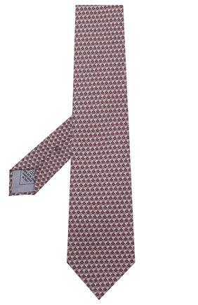 Мужской комплект из галстука и платка BRIONI бордового цвета, арт. 08A900/08477 | Фото 2