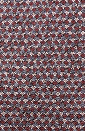 Мужской комплект из галстука и платка BRIONI бордового цвета, арт. 08A900/08477 | Фото 3