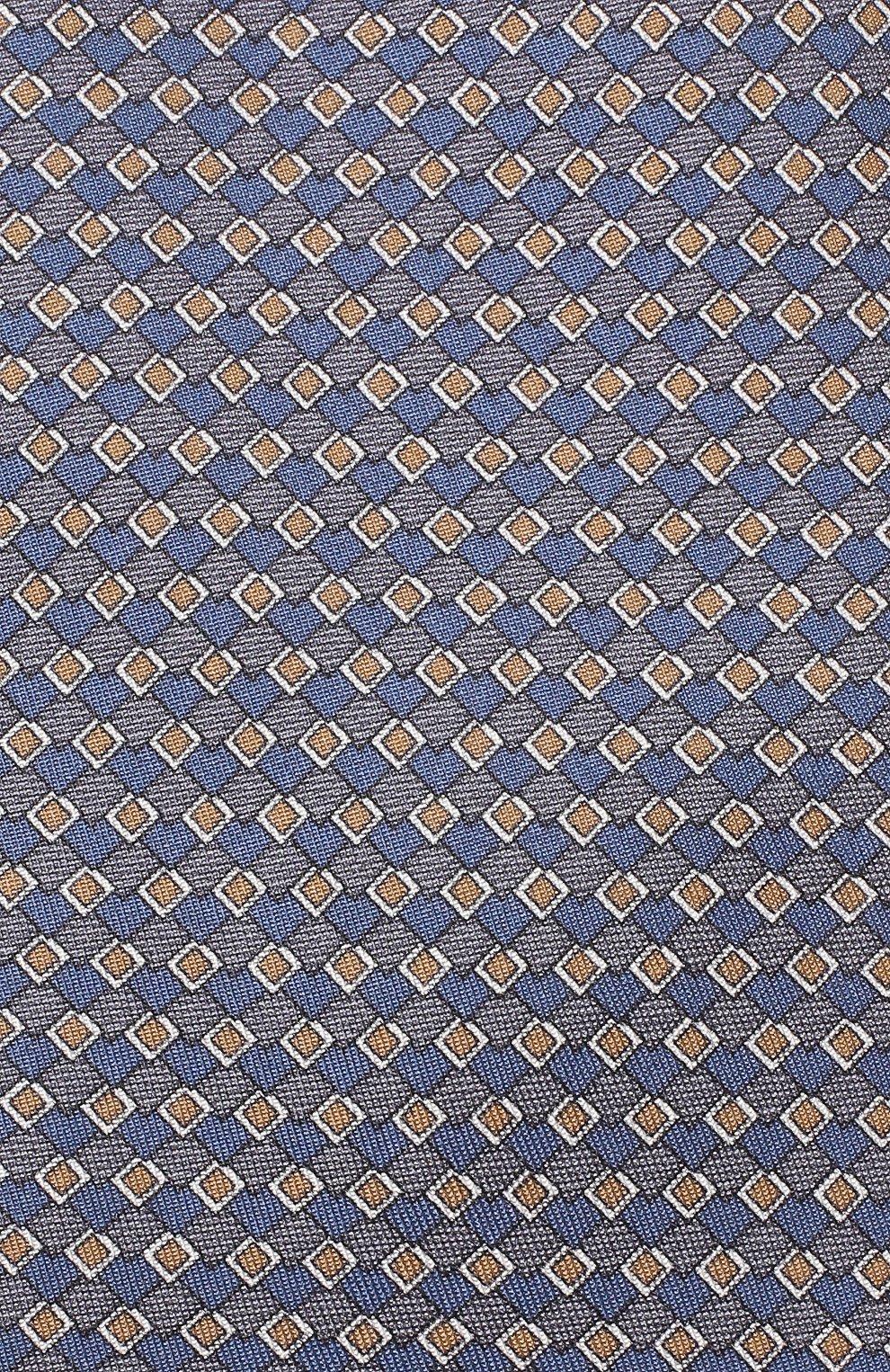 Мужской комплект из галстука и платка BRIONI голубого цвета, арт. 08A900/08477 | Фото 3