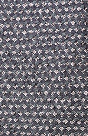 Мужской комплект из галстука и платка BRIONI синего цвета, арт. 08A900/08477 | Фото 3
