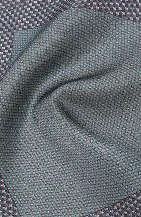 Мужской комплект из галстука и платка BRIONI синего цвета, арт. 08A900/08477 | Фото 5
