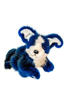 Детского игрушка щенок CAROLON синего цвета, арт. 001678 | Фото 1
