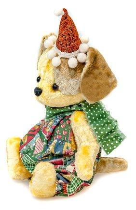 Детского игрушка собачка CAROLON желтого цвета, арт. 001674 | Фото 2
