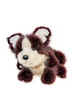 Детского игрушка собачка CAROLON бордового цвета, арт. 2-00759 | Фото 1