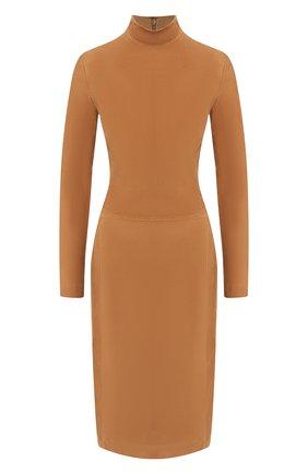 Женское замшевое платье RALPH LAUREN коричневого цвета, арт. 290760053 | Фото 1