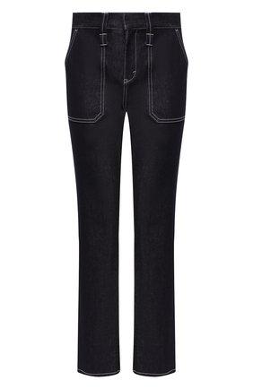 Женские джинсы CHLOÉ темно-синего цвета, арт. CHC19ADP01155   Фото 1