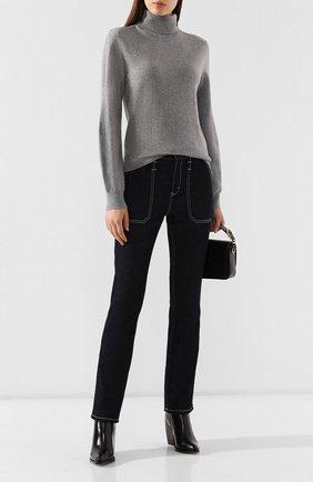 Женские джинсы CHLOÉ темно-синего цвета, арт. CHC19ADP01155   Фото 2