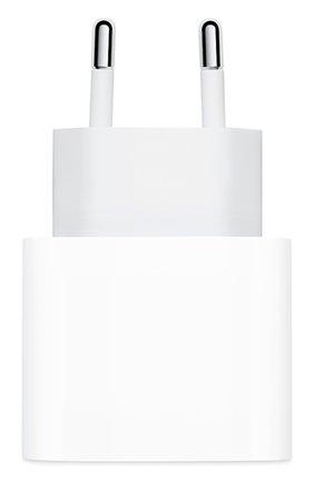 Мужской сетевой адаптер питания usb-c 18w APPLE белого цвета, арт. MU7V2ZM/A | Фото 2
