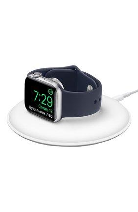 Мужская dock-станция для apple watch с магнитным креплением APPLE  белого цвета, арт. MU9F2ZE/A | Фото 1