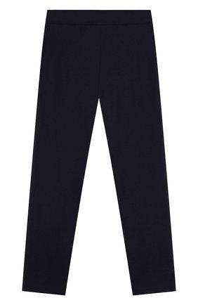 Детские брюки из вискозы ALETTA синего цвета, арт. AF999402/4A-8A | Фото 2