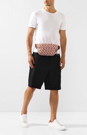 Мужская поясная сумка BURBERRY оранжевого цвета, арт. 8010744 | Фото 2