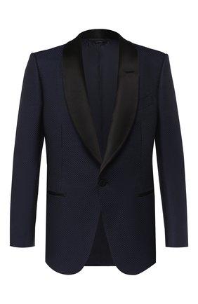 Пиджак из смеси хлопка и шелка   Фото №1