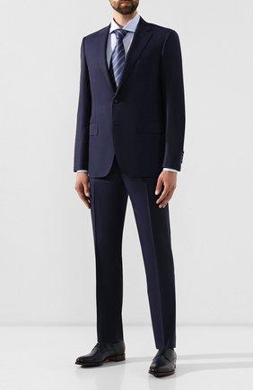 Мужской шерстяной костюм CANALI темно-синего цвета, арт. 11280/19/BF00782 | Фото 1