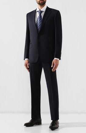 Мужской шерстяной костюм CANALI темно-синего цвета, арт. 11220/10/BF01790 | Фото 1