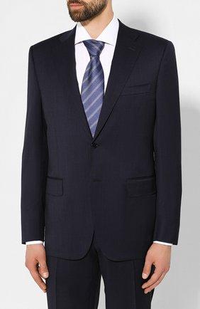 Мужской шерстяной костюм CANALI темно-синего цвета, арт. 11220/10/BF01790 | Фото 2
