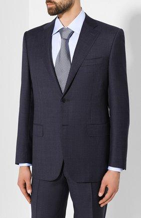 Мужской шерстяной костюм CANALI синего цвета, арт. 11220/10/BF00069 | Фото 2