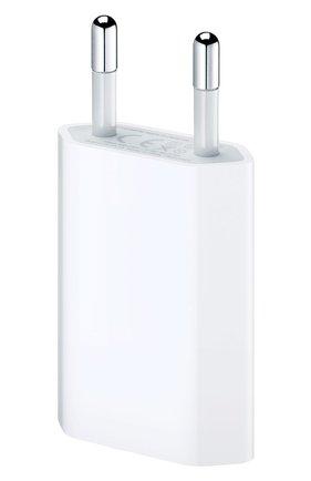 Мужской сетевой адаптер питания 5w APPLE белого цвета, арт. MD813ZM/A | Фото 1