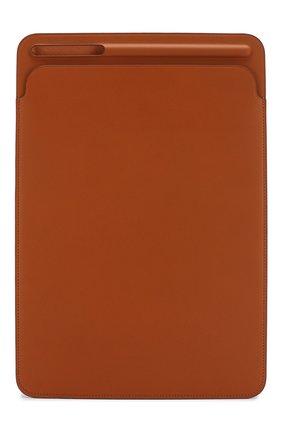"Мужской чехол для ipad pro 10.5"" APPLE коричневого цвета, арт. MPU12ZM/A | Фото 1"