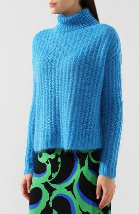 Вязаный пуловер | Фото №3