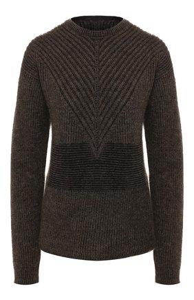Женская пуловер RICK OWENS черного цвета, арт. RP19F5660/KFI   Фото 1
