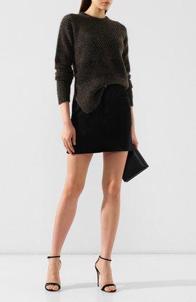 Женская пуловер RICK OWENS черного цвета, арт. RP19F5660/KFI   Фото 2