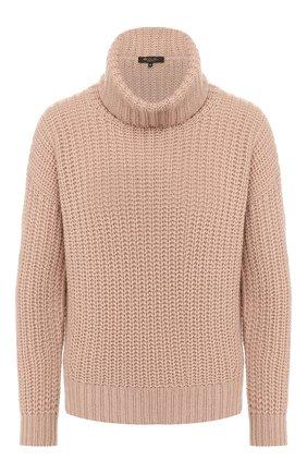 Женская кашемировый свитер LORO PIANA светло-розового цвета, арт. FAF9199 | Фото 1