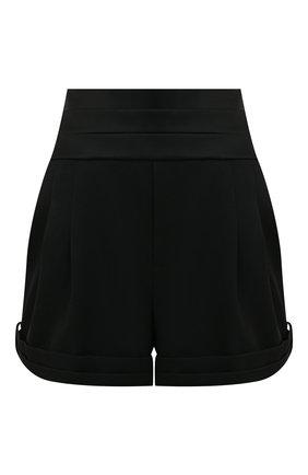 Женские шерстяные шорты SAINT LAURENT черного цвета, арт. 577213/Y399W | Фото 1