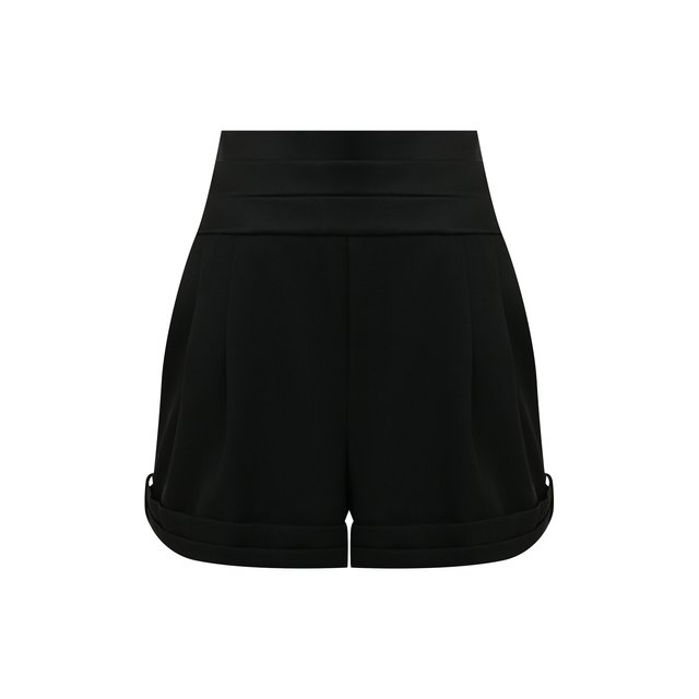 Шерстяные шорты Saint Laurent