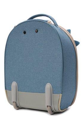 Детский дорожный чемодан на колесиках happy sammies SAMSONITE синего цвета, арт. CD0-21033 | Фото 2