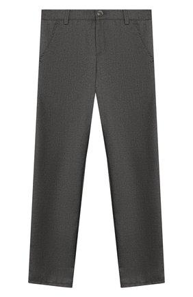 Детские брюки ALETTA темно-серого цвета, арт. AM999496N/9A-16A | Фото 1