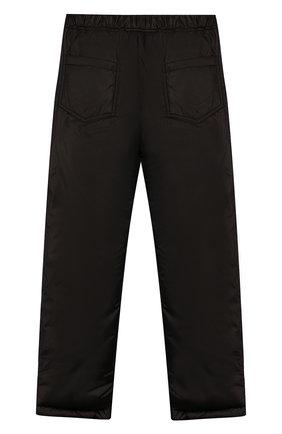 Детские утепленные брюки ALETTA черного цвета, арт. AM999486I/4A-8A | Фото 2