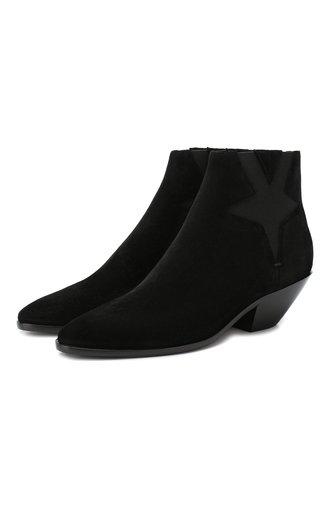 Замшевые ботинки West