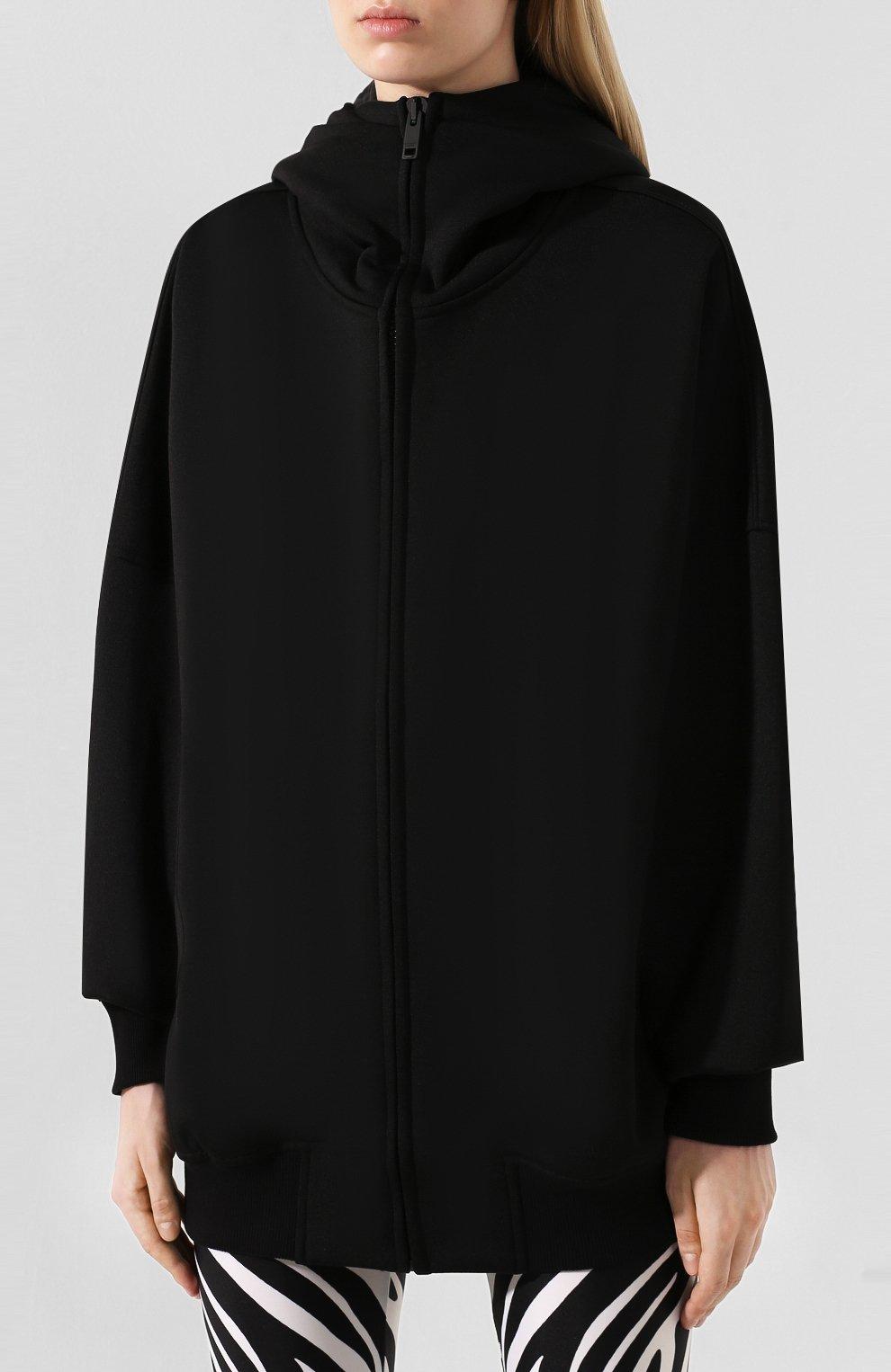 Кардиган с капюшоном Givenchy черный | Фото №3